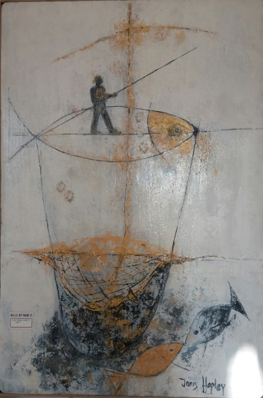 """I am your safety net"" By South African artist - Janis Ann Lane."